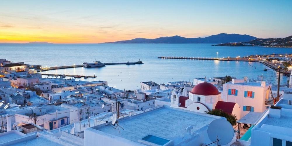 MTS Globe (Mykonos, Greece)
