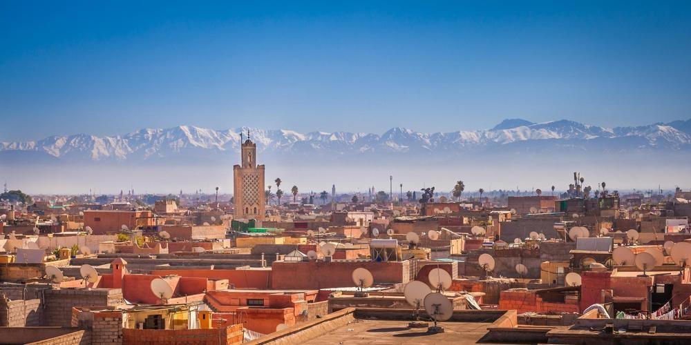 MTS Globe (Marrakech, Morocco)